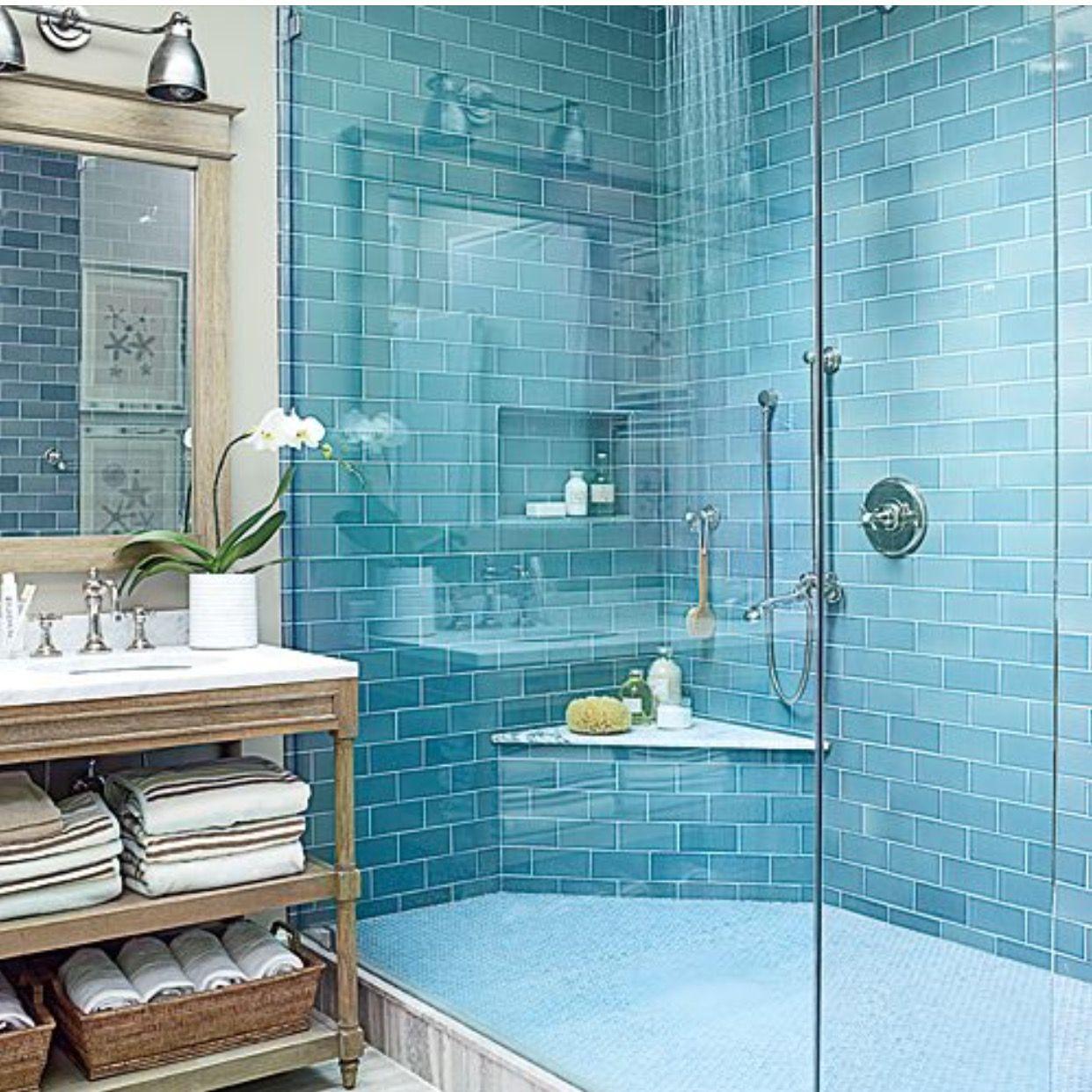 Pin by Andrea Kane on Decor | Pinterest | Blue bath, Coastal and Bath