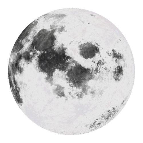 Moon Transparent Pengeditan Foto