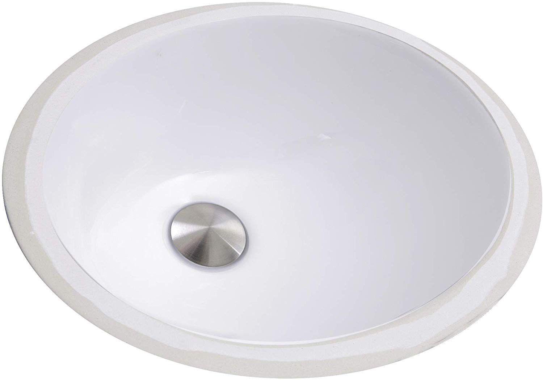 Nantucket Sinks Um 13x10 W 13 Inch By 10 Inch Oval Ceramic Undermount Vanity Sink White Bath Sinks Amazon Com In 2020 Vanity Sink Sink Small Sink