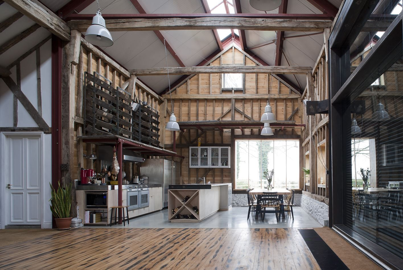 Ancient Party Barn Picture gallery Industrial Rustic