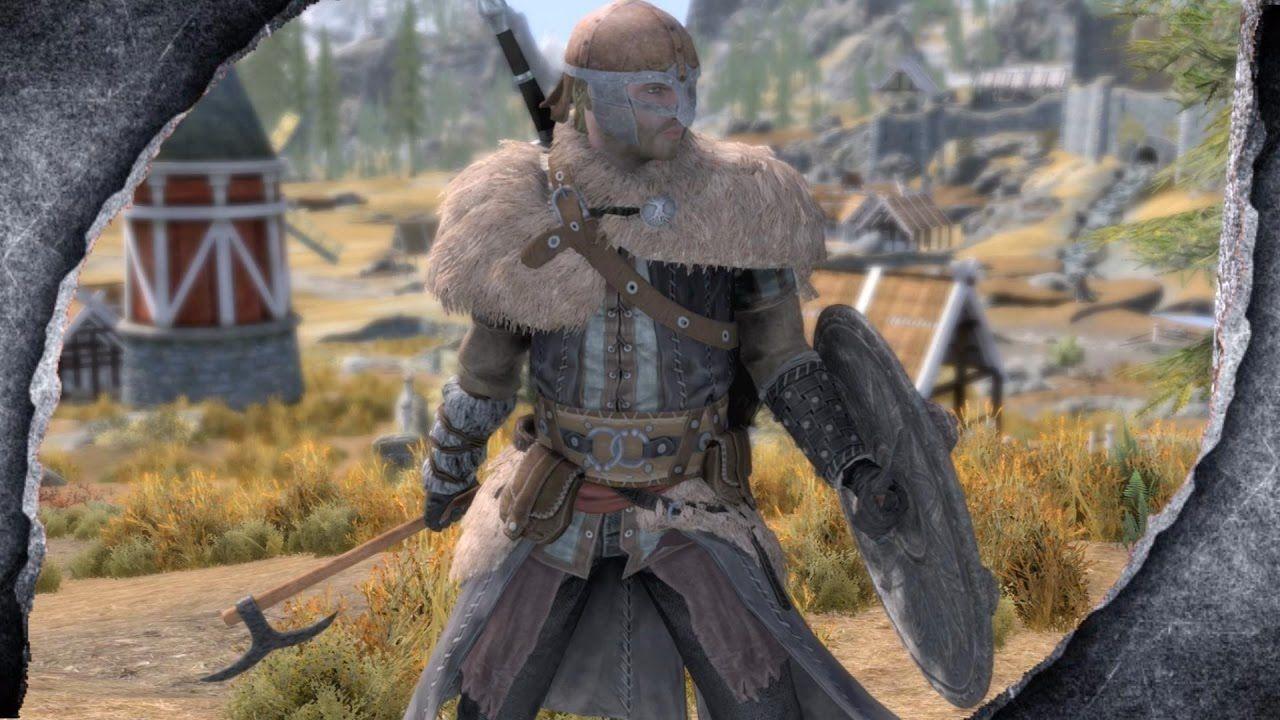 Skyrim Remastered Assassin S Creed Rogue Viking Armor Mod
