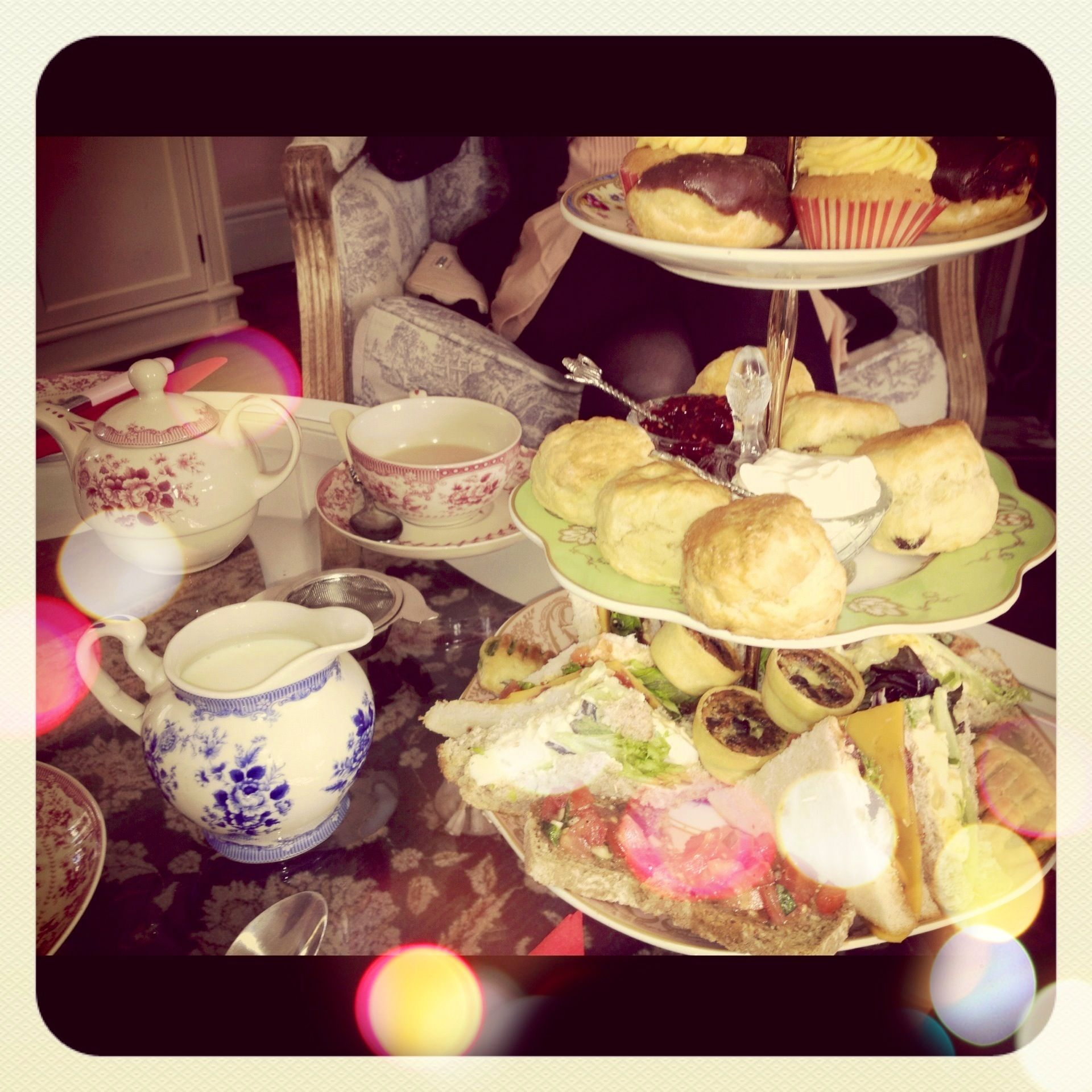 Afternoon tea in Adare, Co. Limerick, Ireland. ☕