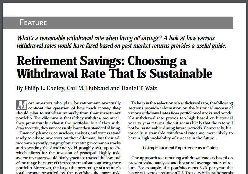 The 4 Percent Rule For Retirement Withdrawals Everything To Know Saving For Retirement Retirement Money Management