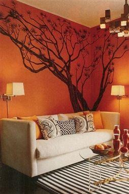 Japanese Maple Tree Wall Decal, Bonsai Tree Walltat