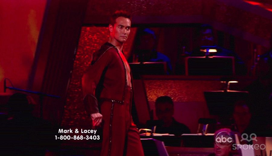 DWTS Season 9 Fall 2009 Mark Dacascos and Lacey Schwimmer