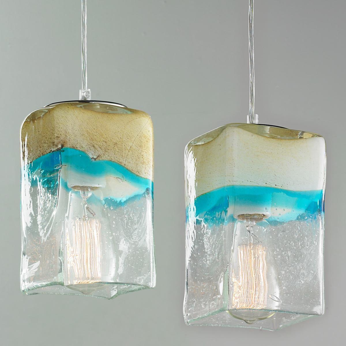 Strata art glass pendant light cream art glass pendants and strata art glass pendant light cream art glass pendants and pendant lighting aloadofball Choice Image