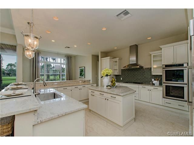 Glamorous Transitional Kitchen In Quail West   Naples, FL