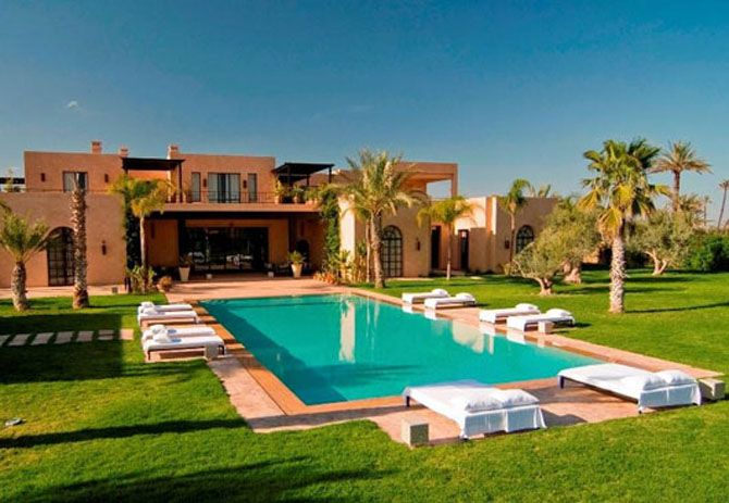 modern moroccan style homes | luxury moroccan villa house design