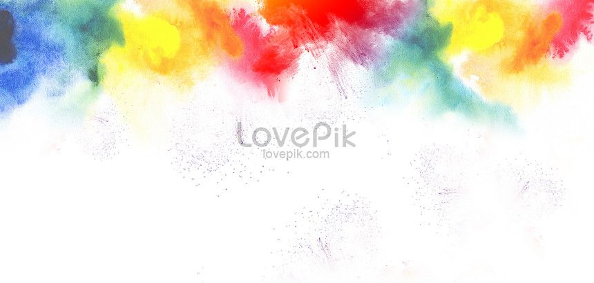 Watercolor Background Design Background White Pure Color Color