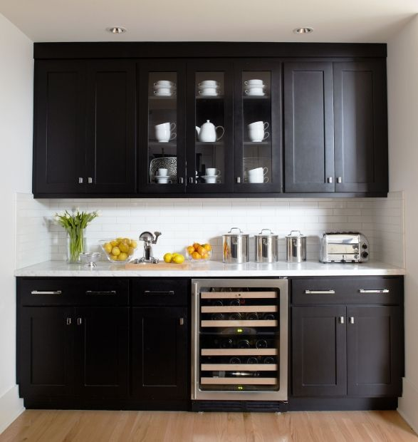Dry And Wet Kitchen Design Photos: Dry Bar Designed By: Urrutia Design