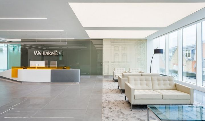 Wedlake bell office by oktra london uk retail design blog