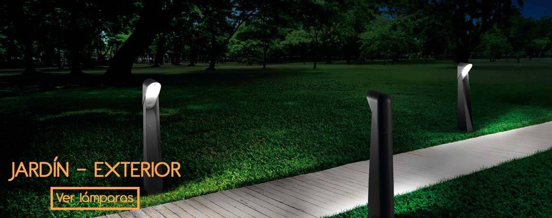 Iluminación jardín - exterior Jardin Pinterest Patios