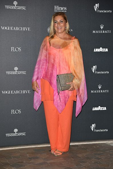 Romina Power Attends Vogue Italia 50th Anniversary During Milan