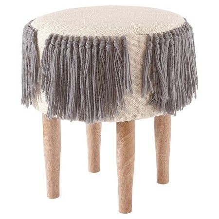Nate Berkus Decorating Ideas fringe woven stool - nate berkus™ : target | house // tilly's