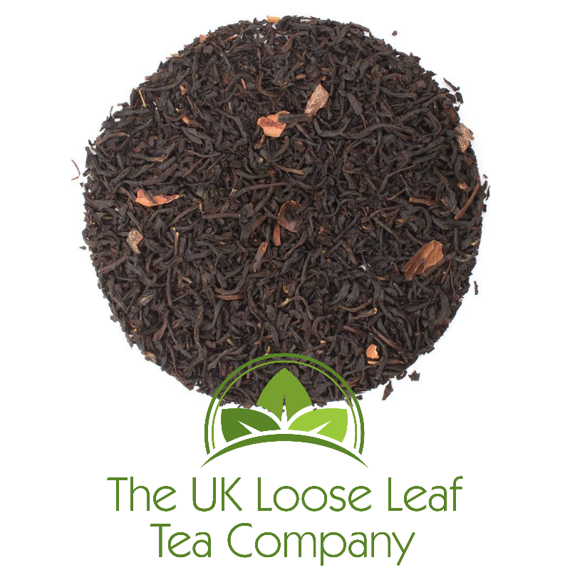 Irish Malt - A flavoured black tea with whiskey- cocoa flavour.  The extravagant flavour of Irish whisky with a hint of cocoa blended with an intensely malty Assam tea - delicious.  Cup Colour: golden brown  Amount of tea per cup: 1 slightly heaped teaspoon  Brewing time: 4 min.