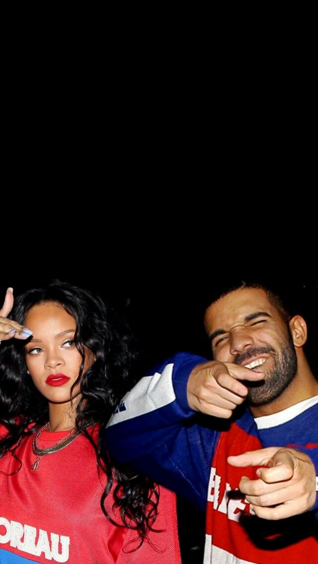 Lockscreen Rihanna e Drake Couple Music Wallpaper