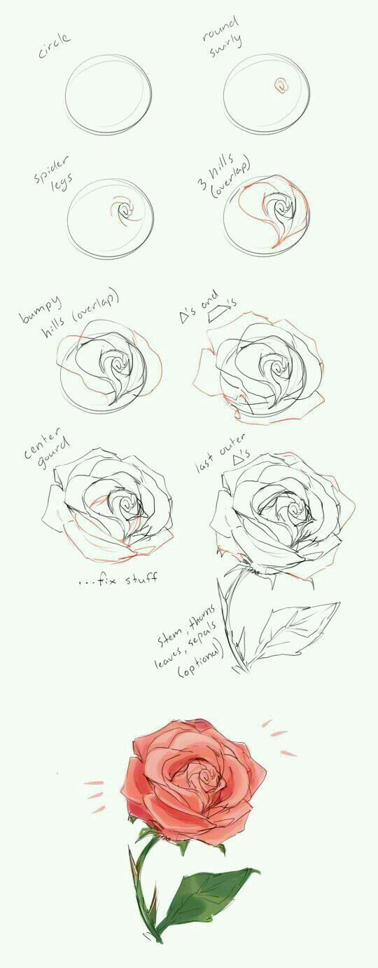 Pin by nata on pinterest drawing techniques and draw as you can see the drawing of a flower is a matter of studying the details deciding on the perspective and reproducing on paper to draw a flower mightylinksfo
