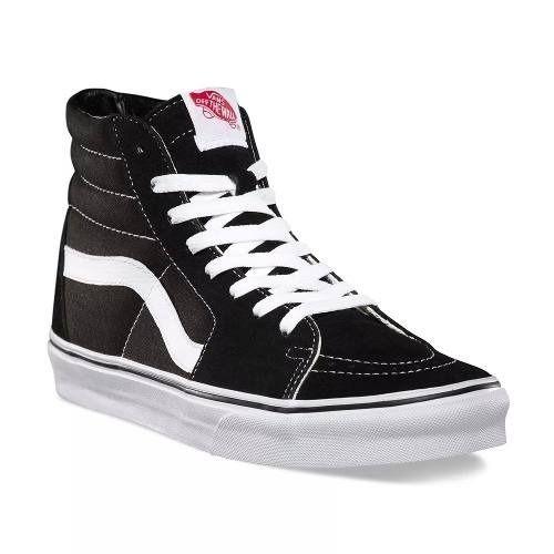 ec99a4b60 bota vans sk8 hi old skool preto branco cano alto skatista | Zapatos ...