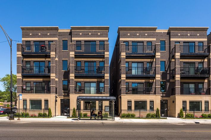 Harlem Ave Condos Luxuryapartments Harlemave Chicago Blackbrick Trendy Tabernacles Condo Luxury Apartments Black Brick