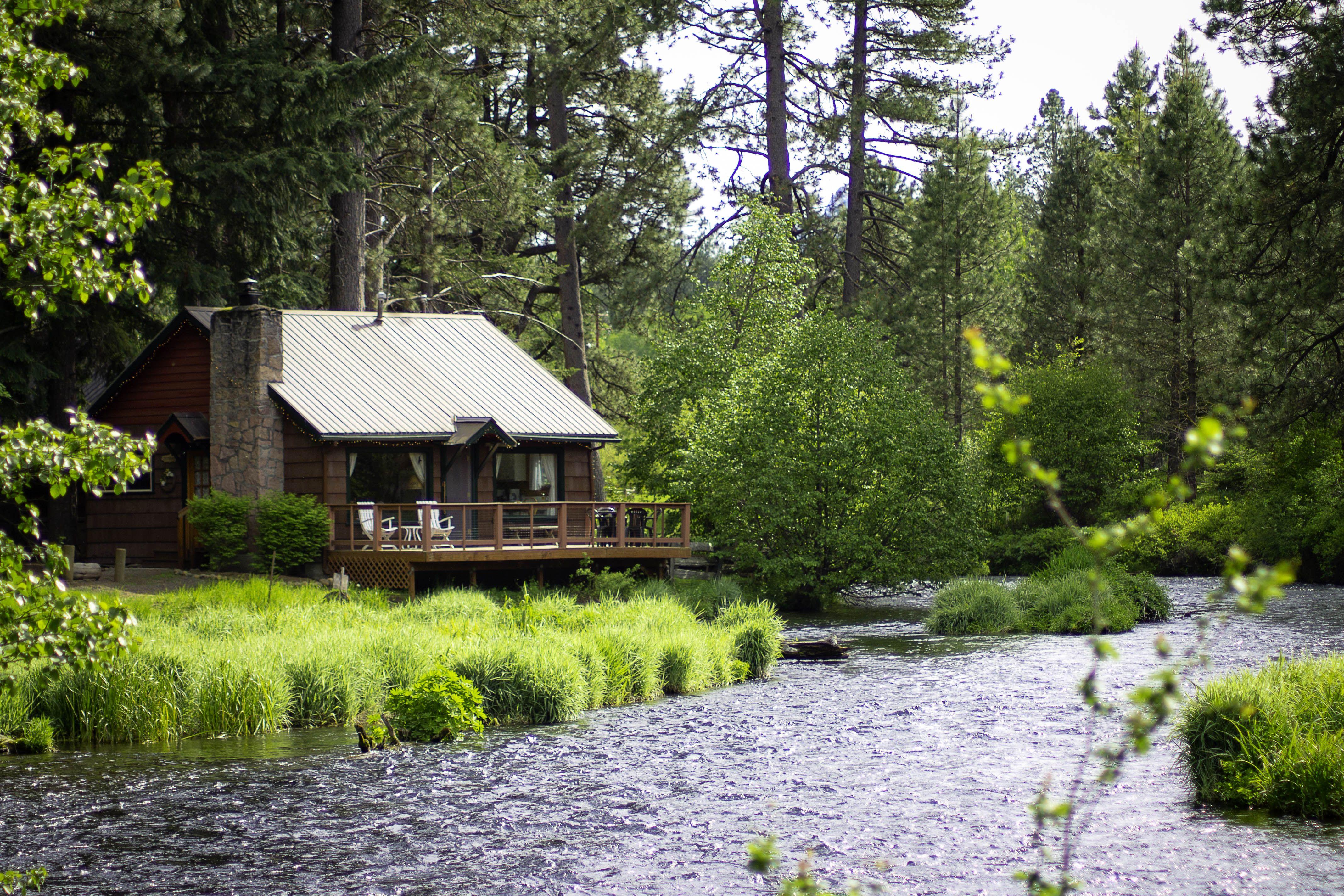 Metolius River Lodges Camp Sherman Oregon My Heart Has