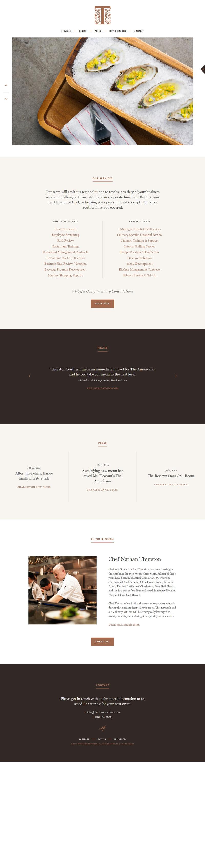 Thurston Southern Flat Design Web Template Design Web Design Website Design