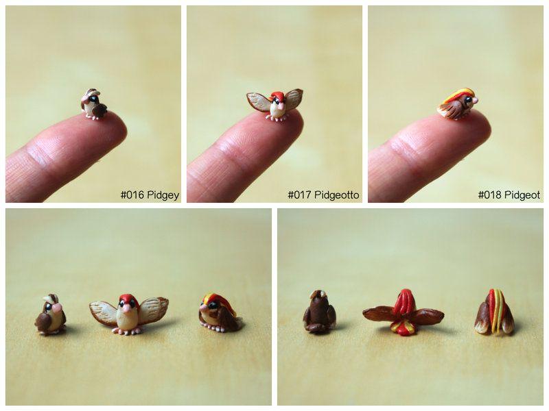 Project 151: Pidgey, Pidgeotto, Pidgeot by lonelysouthpaw.deviantart.com on @deviantART