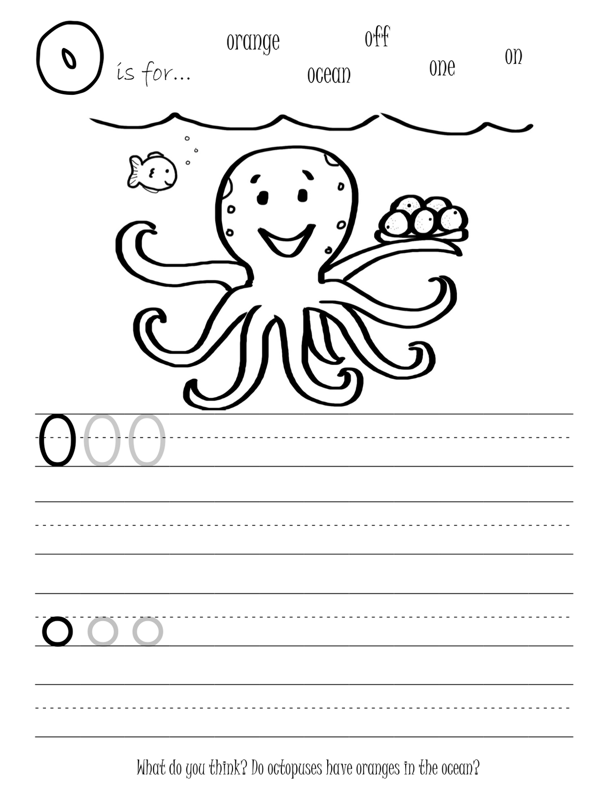 Alphabet Writing Worksheets For Students