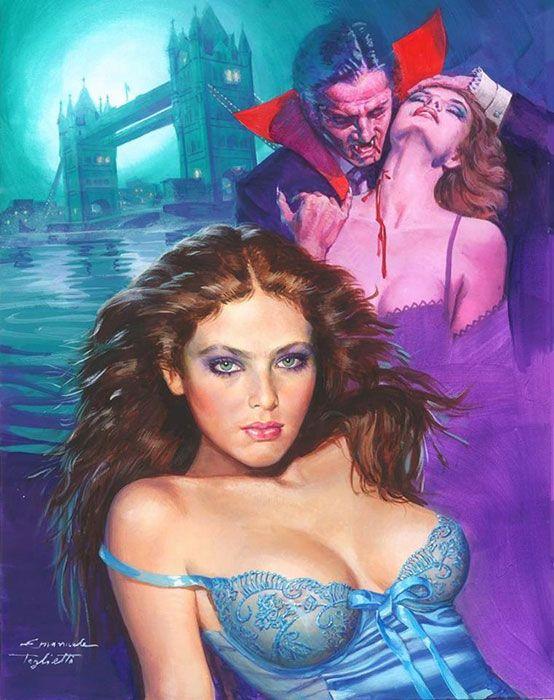 Vampire Of London By Emanuele Taglietti