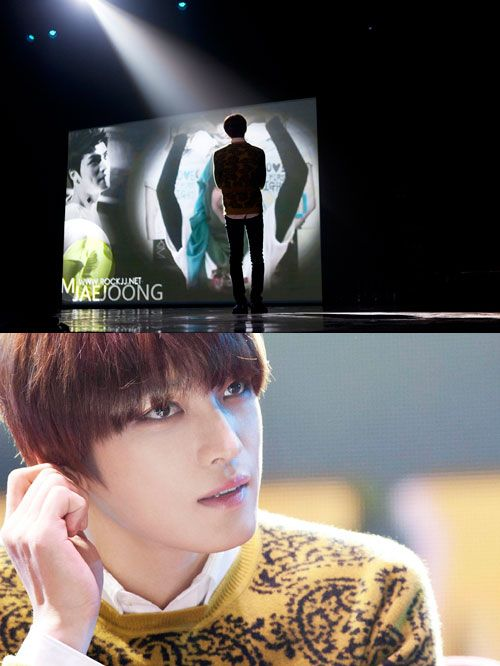 Jaejoong meets with fans in Indonesia despite suffering from a severe sore throat