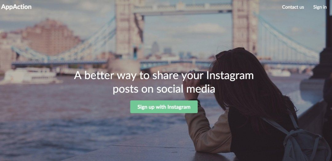 Appaction. Mieux partager vos posts #Instagram sur les réseaux sociaux. #Cm