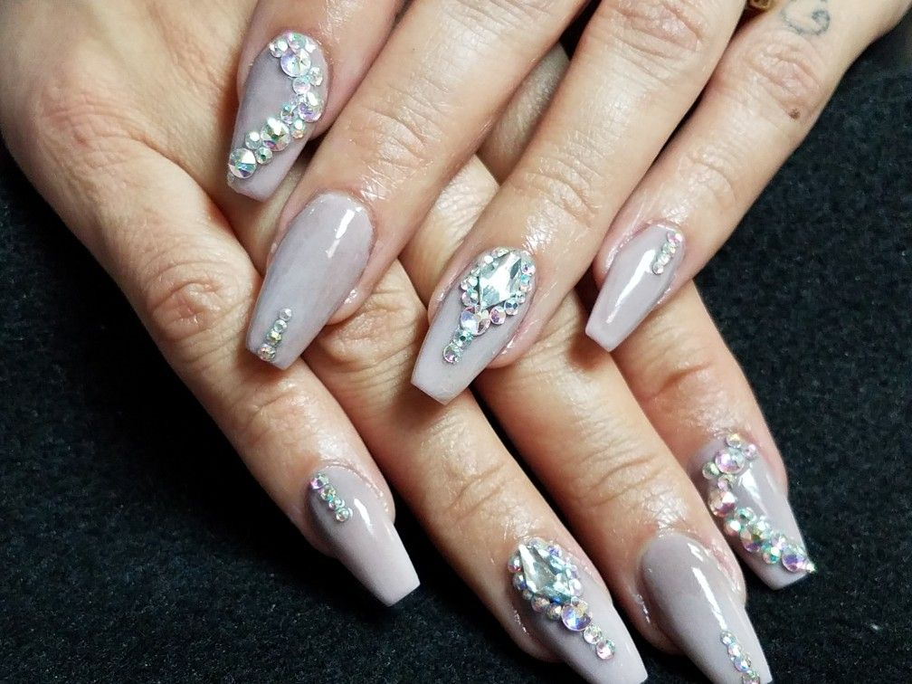Pin by NM Glitz Nail Studio on Sculptured nail designs by