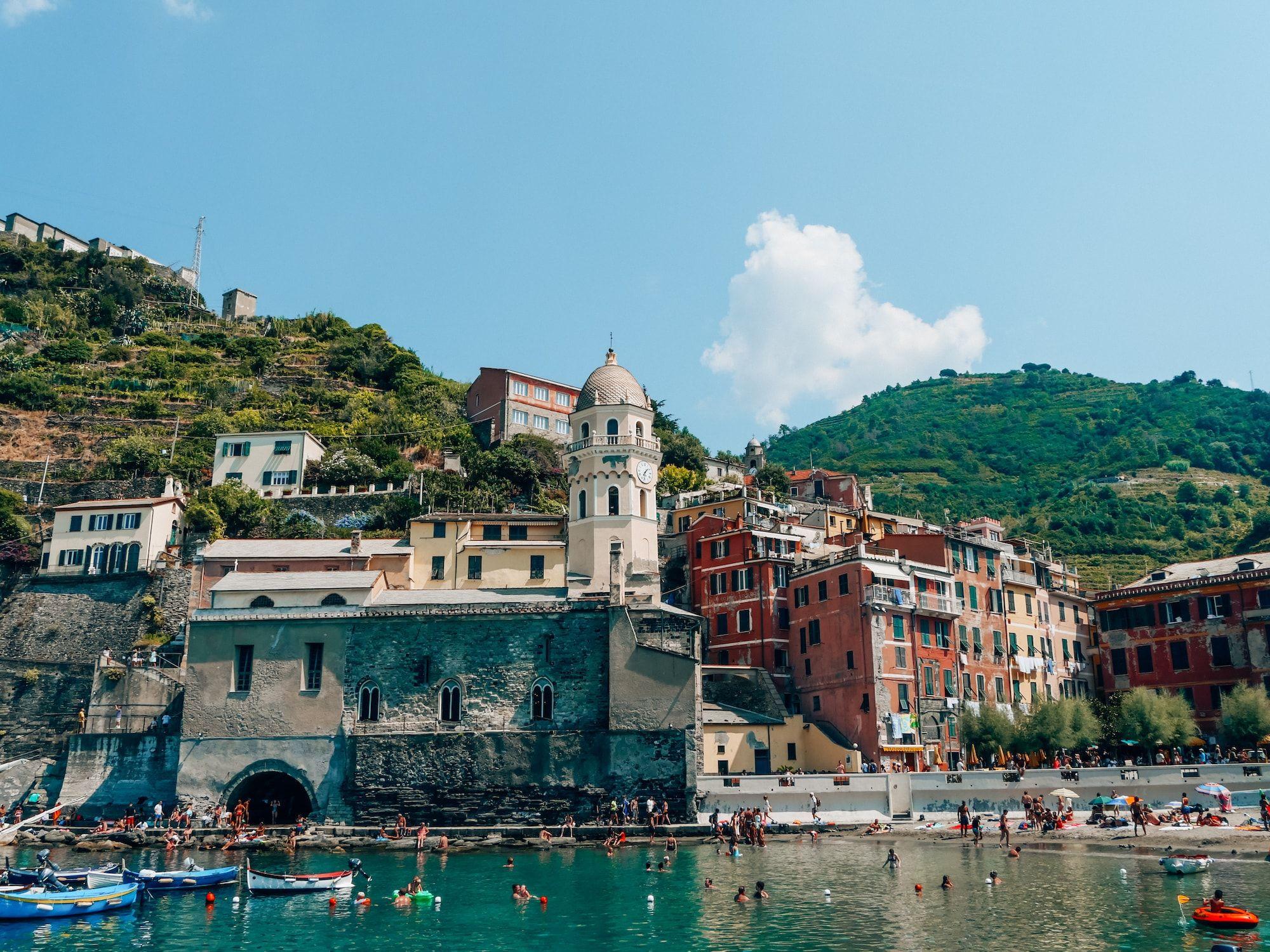 Vernazza Cinque Terre En Italie Ou Dormir Ou Manger Italie