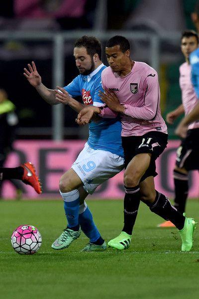 US Citta di Palermo v SSC Napoli - Serie A - Pictures - Zimbio #Quaison