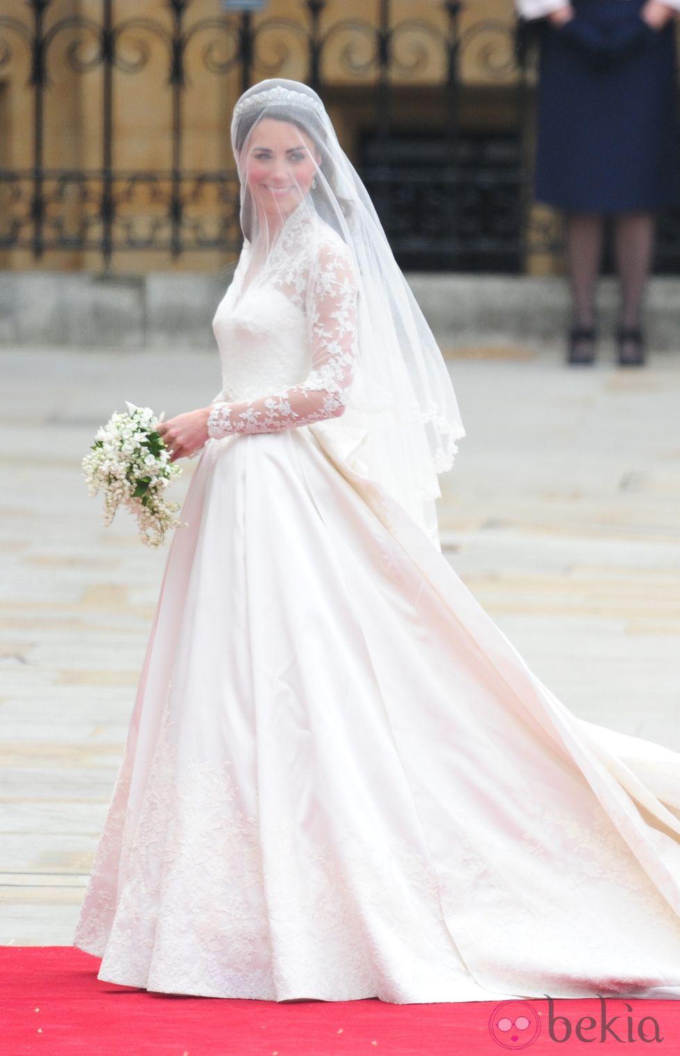 Kate middleton y su vestido de novia