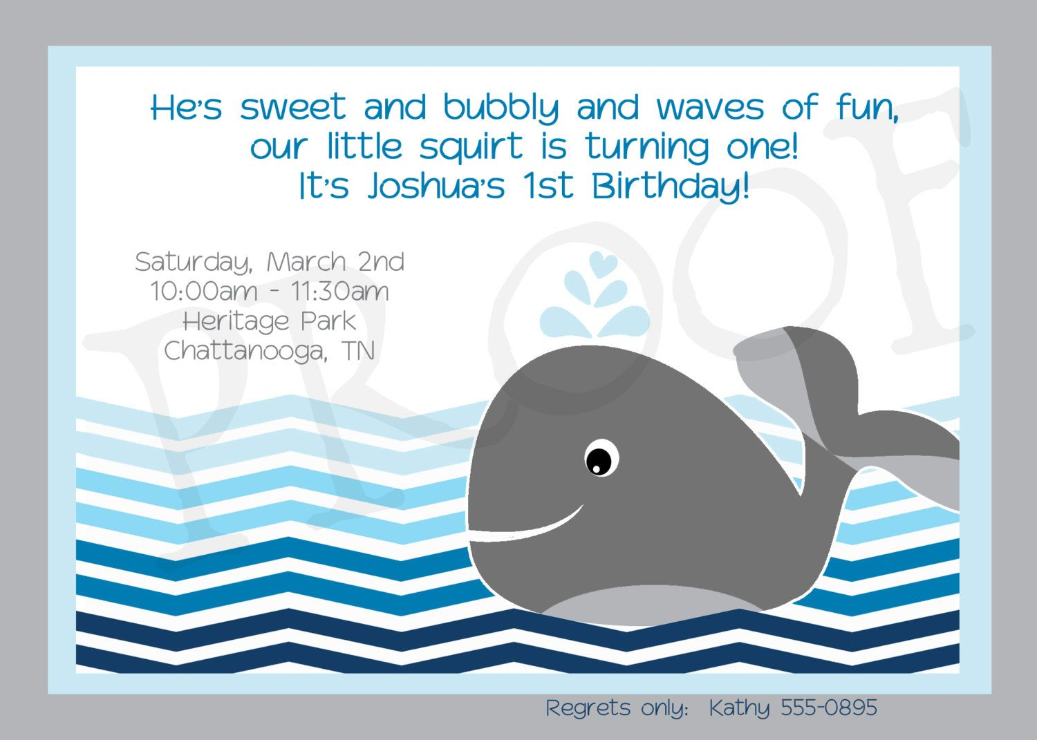 whale birthday party invitation printable whale printables whale party ocean chevron diy 1500