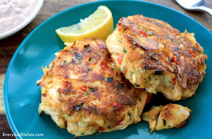 Crab Cakes Recipe Crab Recipes Seafood Recipes Recipes