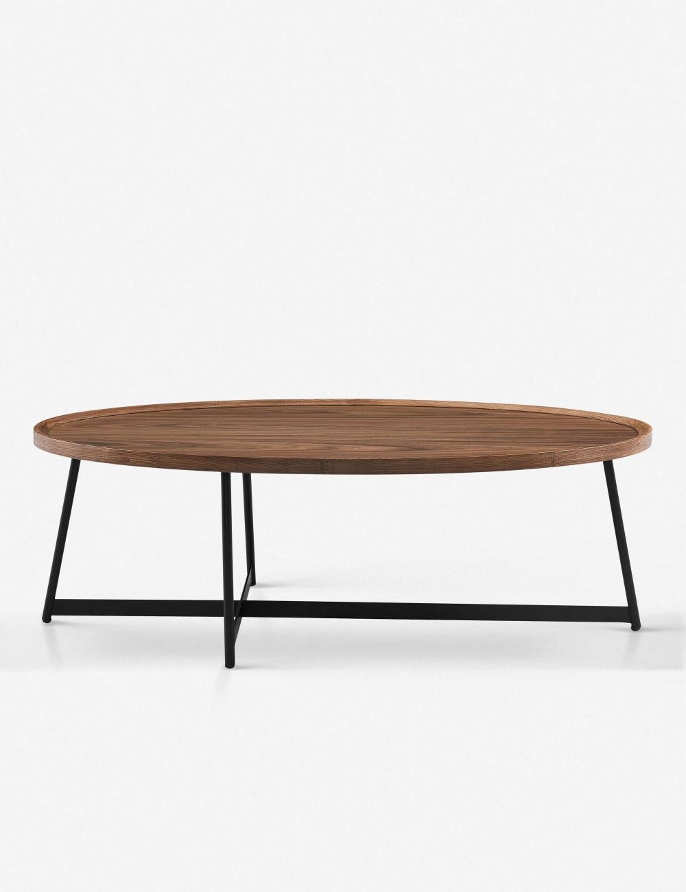 Gweneth Oval Coffee Table Walnut In 2021 Coffee Table Oval Wood Coffee Table Oval Coffee Tables [ 1300 x 1000 Pixel ]