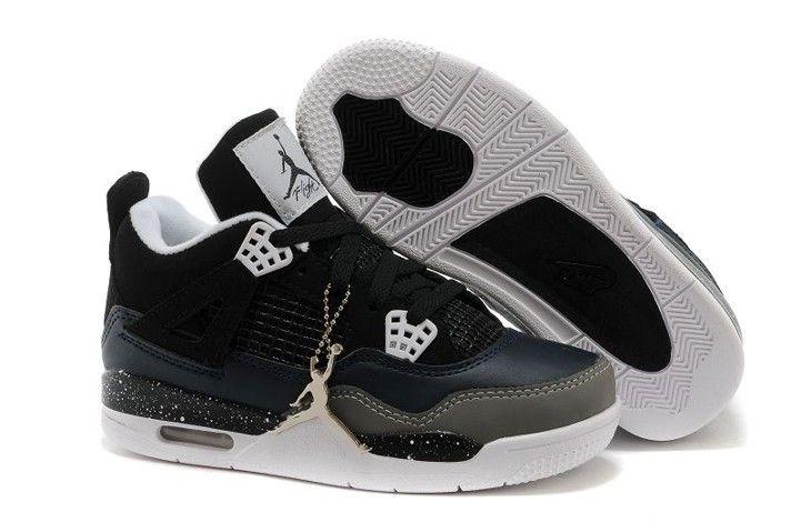 aebdc77c3 ... cheapest air jordan 4 white black iv retro kids shoes 96c24 307e4