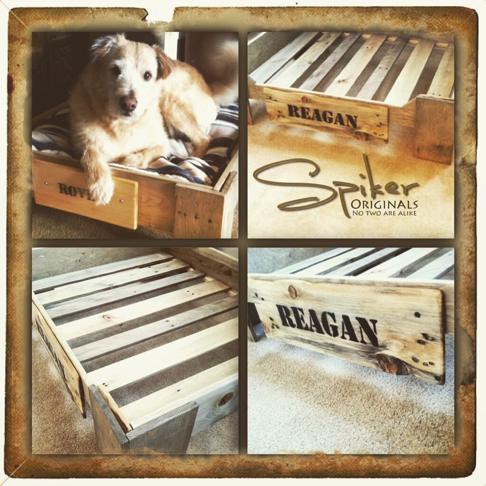 New large dog bed made from reclaimed pallet wood $50 ...