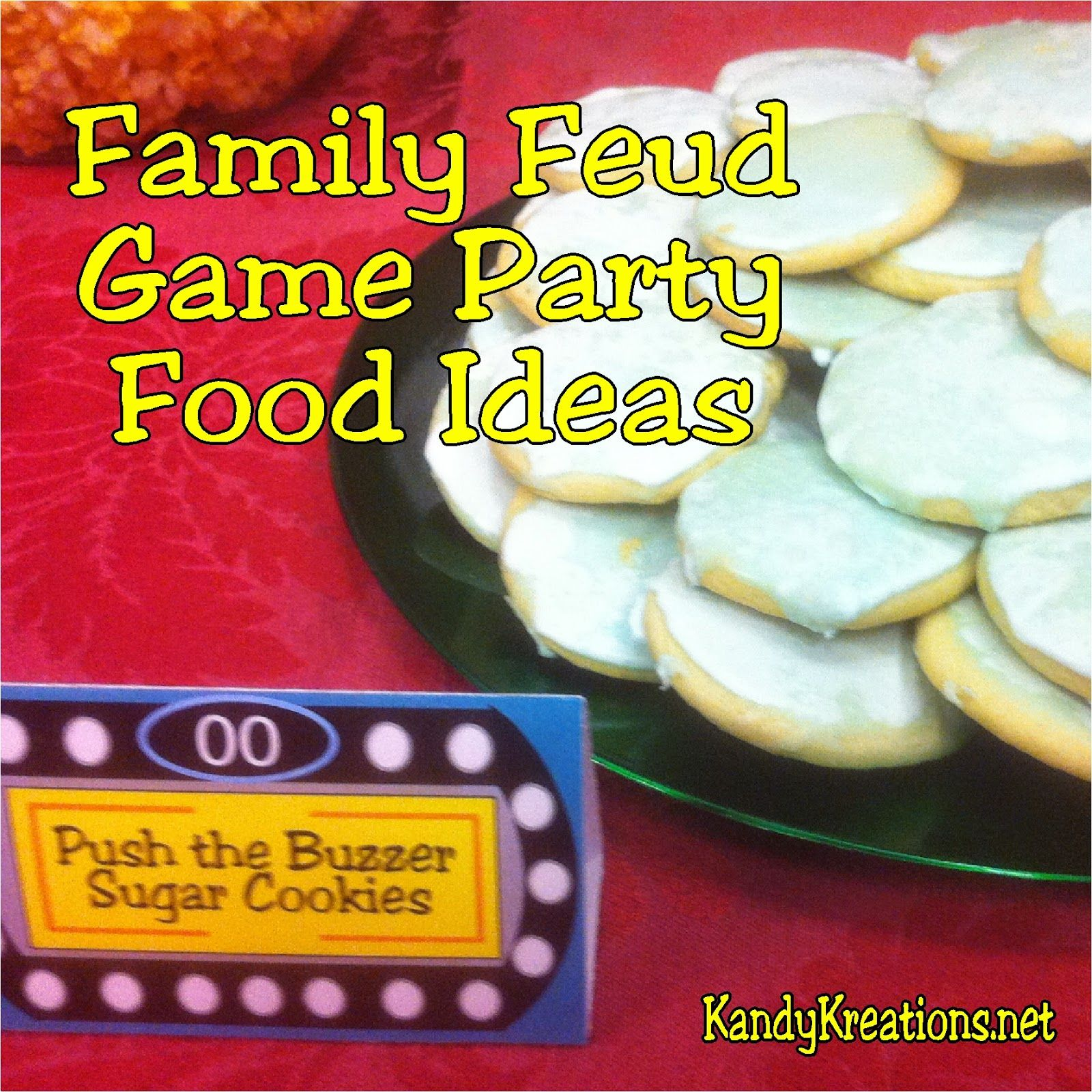 Mormon Family Feud Game Party Food Ideas