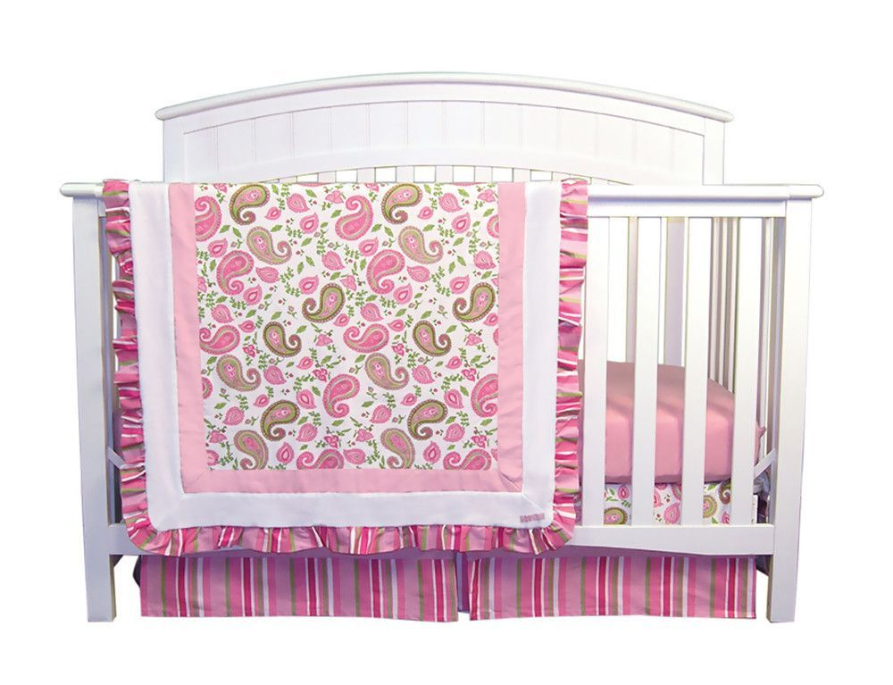 Trend Lab Paisley Park Crib Bedding Set Paisley