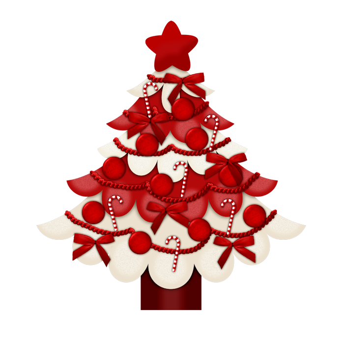 Candy Cane Christmas Kit (65).png Рождественский леденец