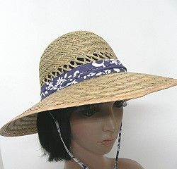 LADIES STRAW GARDEN HATS The rush straw garden hats have a 4 inch brim to  protect from the sun while working in thee yard. A vented crown lets air  circulate ... a3276f88bc9