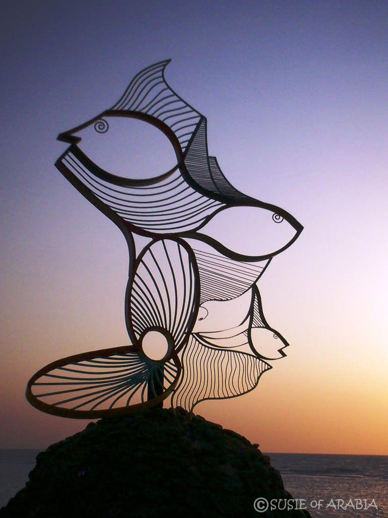 Metal Fish | Metal art sculpture, Yard art
