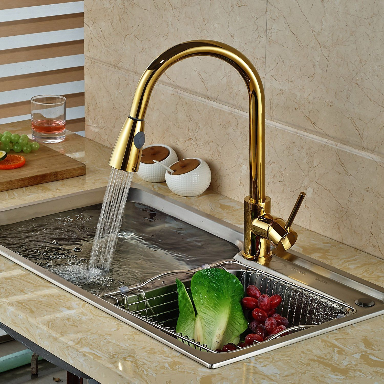 Kitchen Faucet Sale Manaus Deck Mount Gold Kitchen Faucet