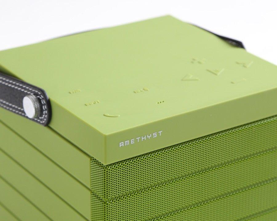 Amethyst MD1Bluetooth & NFC Portable Speaker in Green