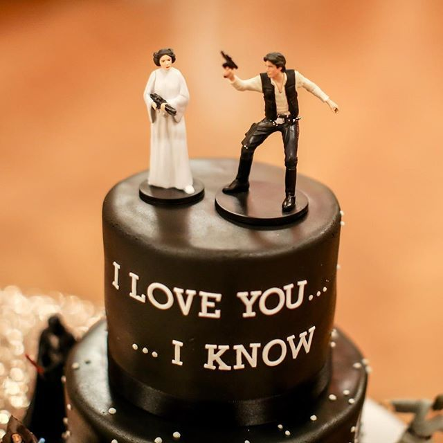 May The Fourth Be With You Wedding Favors: Cute Idea For A Grooms Cake