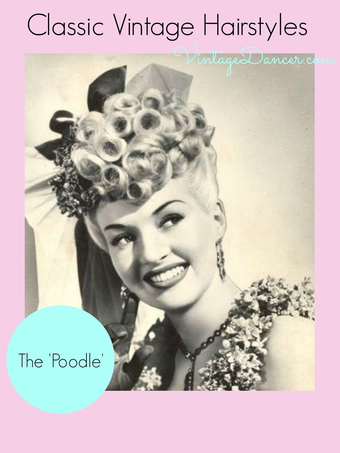 Create easy vintage hairstyles betty grable pinterest vintage