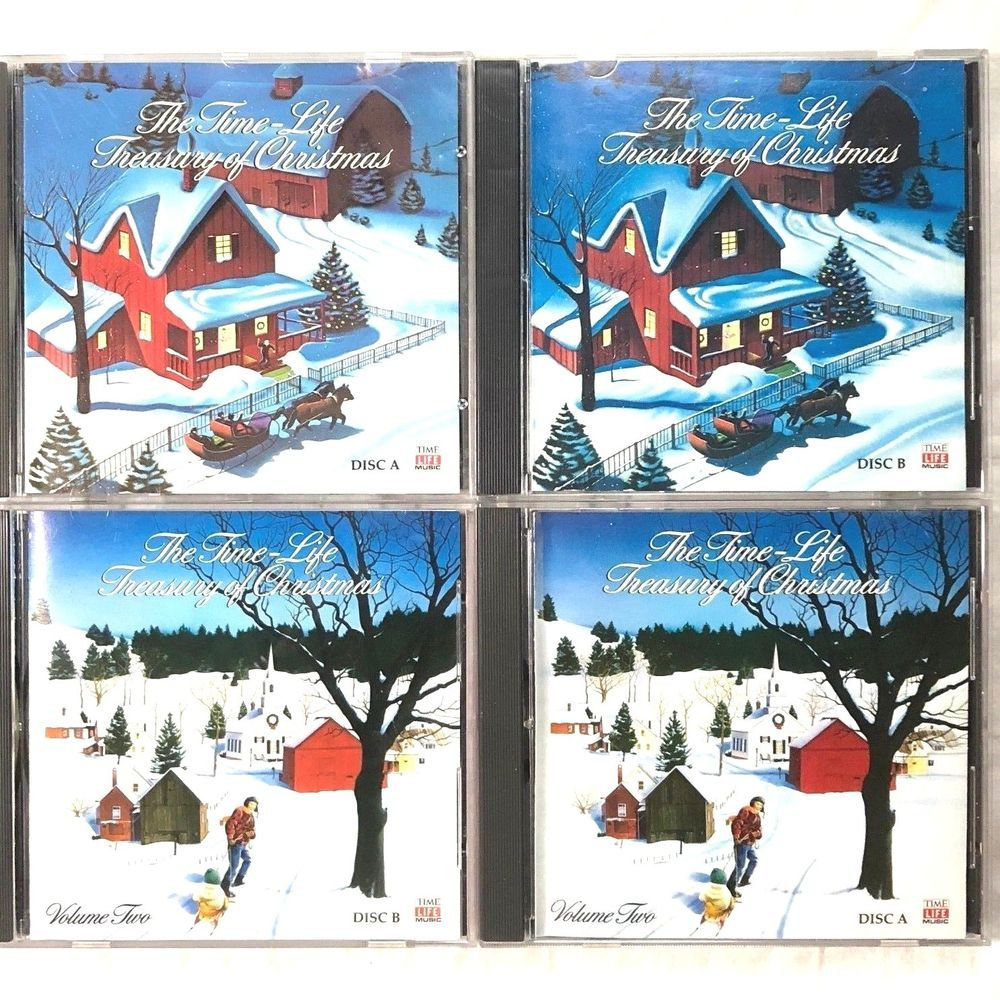 The Time Life Treasury Of Christmas.Details About Rare Original 1987 Version 4 Cd Set Time Life