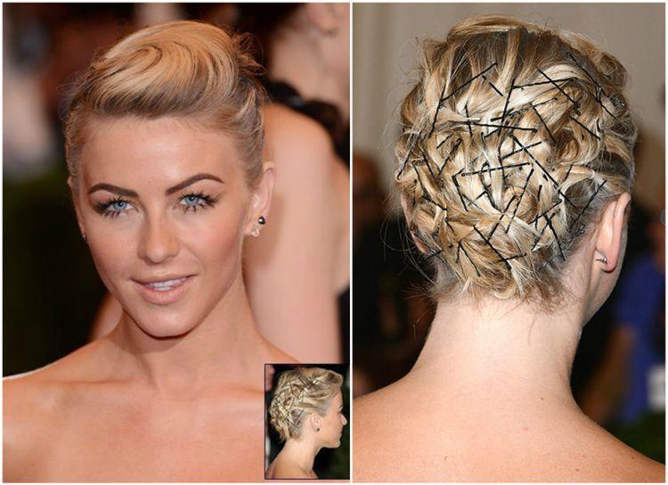 Silvester Frisuren Selber Machen Kurze Haare Stylen Wie Schone Frisuren Kurze Haare Kurze Haare Stylen Dirndl Frisuren Kurze Haare